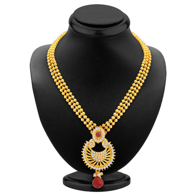 Sukkhi Creative Gold Plated Necklace Set For Women-2