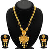 Sukkhi Magnificent Pecock Gold Plated Necklace Set For Women