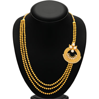 Sukkhi Luxurious Gold Plated Necklace Set For Women-2