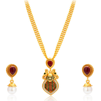 Sukkhi Incredible Gold Plated Necklace Set For Women-1
