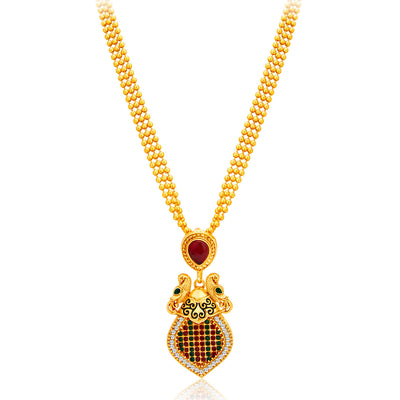 Sukkhi Incredible Gold Plated Necklace Set For Women-3