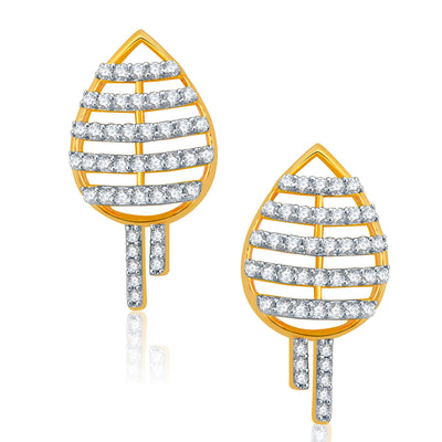 Pissara Lovely Gold And Rhodium Plated CZ Neklace Set For Women-2