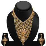 Sukkhi Creative Gold Plated AD Necklace Set For Women-2