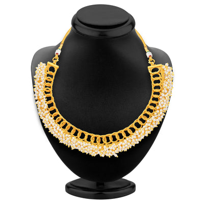 Sukkhi Finely Gold Plated Necklace Set For Women-3