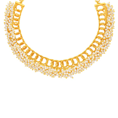 Sukkhi Finely Gold Plated Necklace Set For Women-2