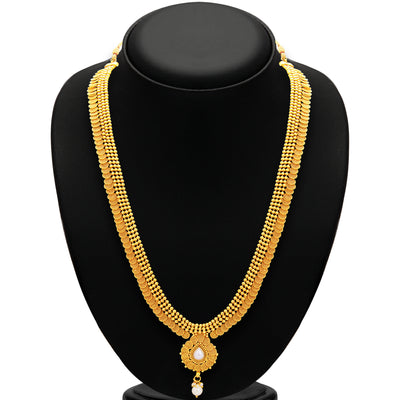 Sukkhi Stunning Jalebi Gold Plated Necklace Set For Women-3