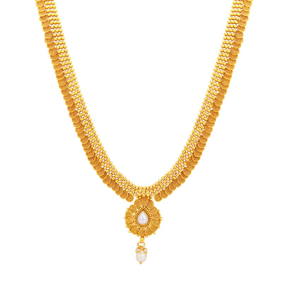 Sukkhi Stunning Jalebi Gold Plated Necklace Set For Women-2