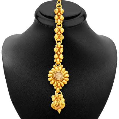 Sukkhi Modish Gold Plated Necklace Set For Women-7