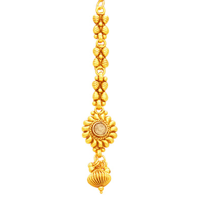 Sukkhi Modish Gold Plated Necklace Set For Women-6