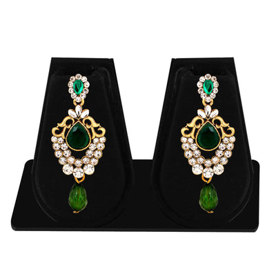 Sukkhi Exquisite Gold Plated AD Combo Earring For Women-2