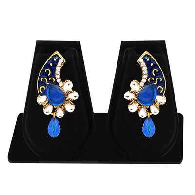 Sukkhi Exquisite Gold Plated AD Combo Earring For Women-8