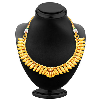 Sukkhi Fancy Gold Plated Necklace Set For Women-3