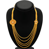 Sukkhi Excellent Five String Jalebi Gold Plated Kundan Necklace Set For Women-3