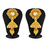 Sukkhi Excellent Five String Jalebi Gold Plated Kundan Necklace Set For Women-5