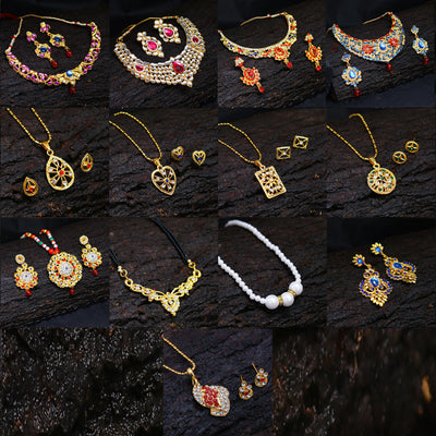 Sukkhi Jewellery Collection - Necklace set Combo