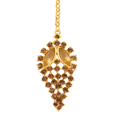 Sukkhi Finely LCT Stone Gold Plated AD Necklace Set For Women-7