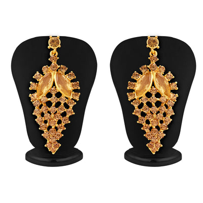 Sukkhi Finely LCT Stone Gold Plated AD Necklace Set For Women-4