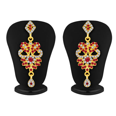 Sukkhi Fashionable Gold Plated AD Necklace Set For Women-4