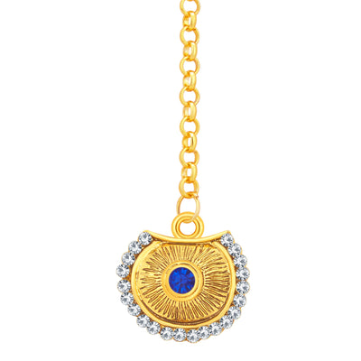 Sukkhi Bewitching Gold Plated AD Necklace Set For Women-7