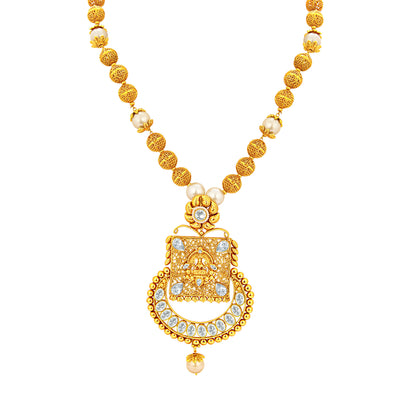 Sukkhi Youthful Gold Plated Necklace Set For Women-2