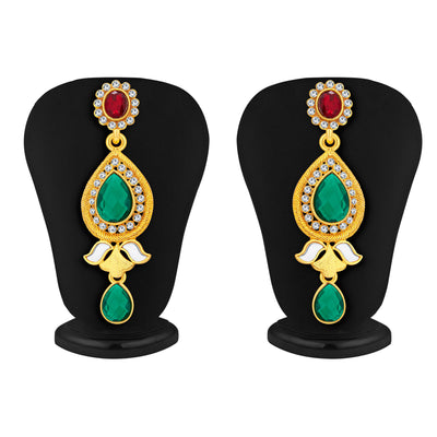 Sukkhi Classic Gold Plated Kundan Necklace Set For Women-4