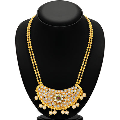 Sukkhi Fabulous Gold Plated Necklace Set For Women-3
