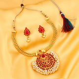 0028 Sukkhi Finely Gold Plated Necklace Set For Women