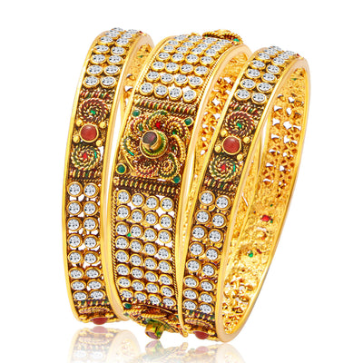 Sukkhi Stunning Gold Plated Bangle For Women