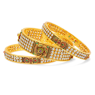 Sukkhi Stunning Gold Plated Bangle For Women-1