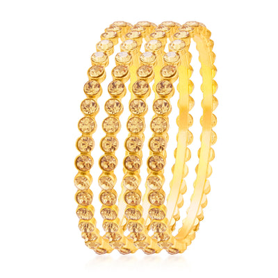 Sukkhi Incredible LCT Stone Gold Plated AD Bangle For Women