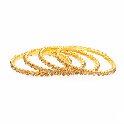 Sukkhi Incredible LCT Stone Gold Plated AD Bangle For Women-1