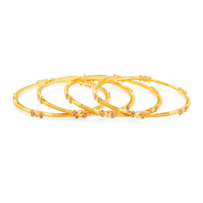 Sukkhi Fine LCT Stone Gold Plated AD Bangle For Women-1