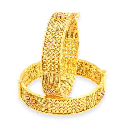 Sukkhi Beguiling Gold Plated Bangle For Women