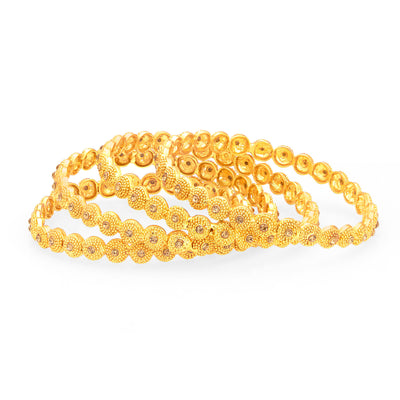 Sukkhi Finely LCT Stone Gold Plated AD Bangle For Women-1