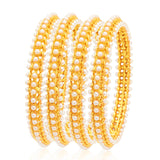 Sukkhi Sparkling Gold Plated Bangle For Women