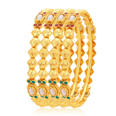Sukkhi Finely Gold Plated Bangle For Women