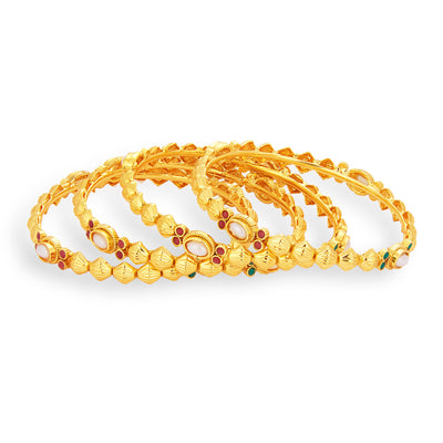 Sukkhi Finely Gold Plated Bangle For Women-1