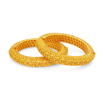 Sukkhi Ritzy Gold Plated Bangle For Women-1