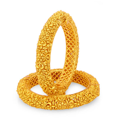 Sukkhi Dazzling Gold Plated Bangle For Women