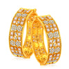 Sukkhi Sparkling Gold Plated American Diamond Bangle For Women