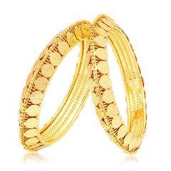 Sukkhi Sublime Laxmi Temple Gold Plated Bangle For Women
