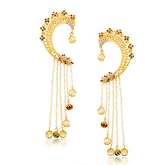 Sukkhi Fashionable Gold Plated Pearl Earcuff For Women