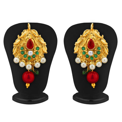 Sukkhi Blossomy Gold Plated Pendant Set-2