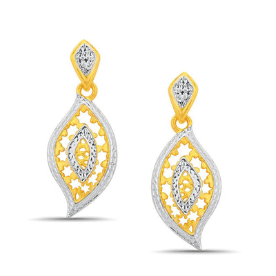 Sukkhi Ravishing Gold and Rhodium Plated Pendant Set With Chain-2