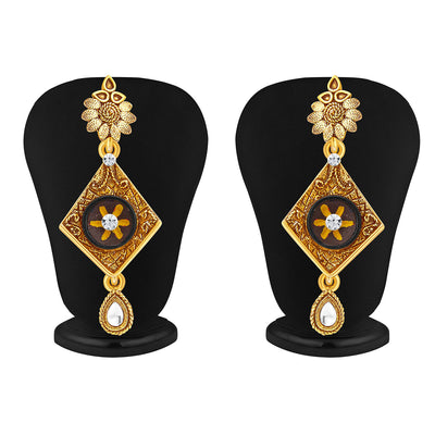 Sukkhi Artistically Gold Plated Pendant Set For Women-4