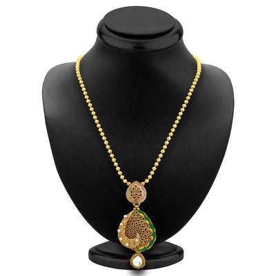 Sukkhi Sublime Gold Plated Pendant Set For Women-2