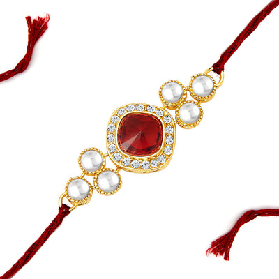 Sukkhi Gold Plated Set of 2 Designer Rakhi Combo-2