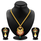 Sukkhi Exquisite Gold Plated Pendant Set For Women-1