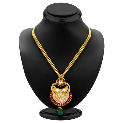 Sukkhi Exquisite Gold Plated Pendant Set For Women-3