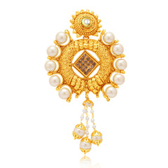 Sukkhi Pleasing Gold Plated AD Passa For Women